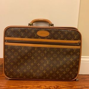 Vintage LOUIS VUITTON Small luggage
